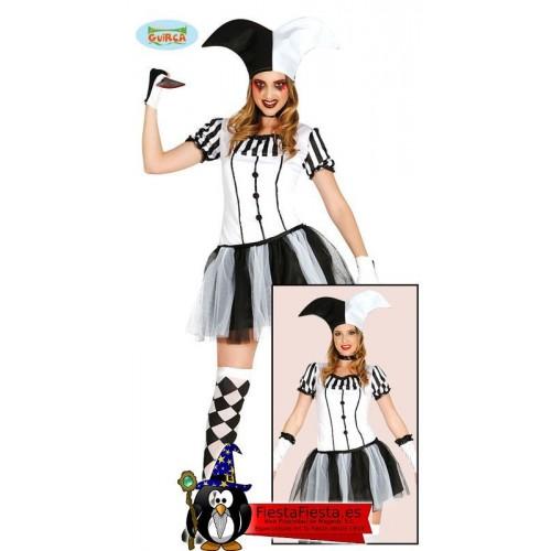 Disfraz Arlequin Chica Mujer