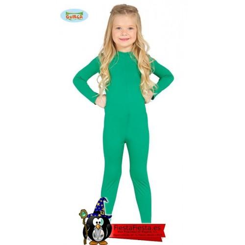 Maillot Infantil Verde Talla 5-8 Años