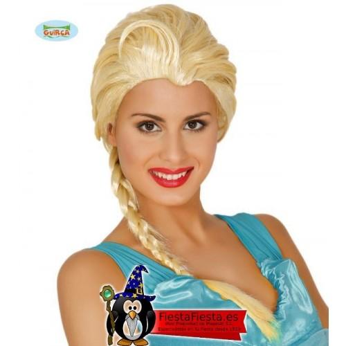 Peluca Princesa de Hielo
