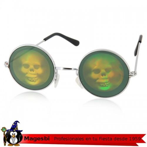 Gafas Reflejos Calavera