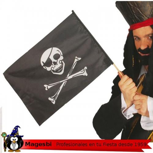 Bandera Pirata Palo