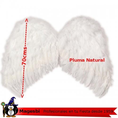 Alas Angel Plumon Blanco 70cm