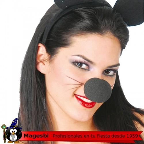 Nariz Payaso Espuma Negra