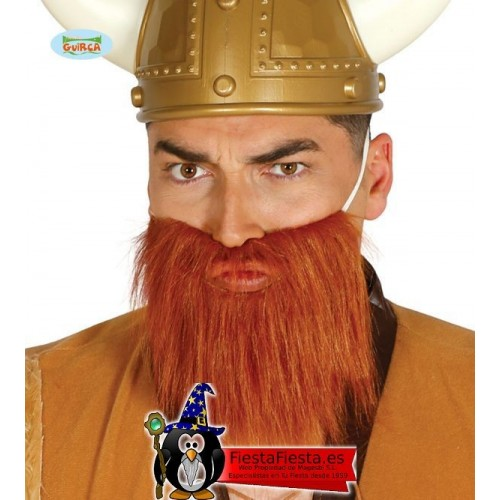 Barba Castaña Pelirroja