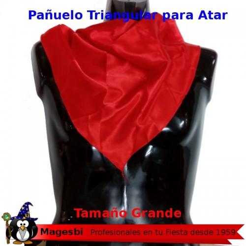 Pañuelo Triangular Rojo