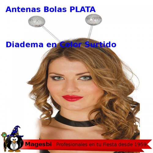 Antenas Bola Plata
