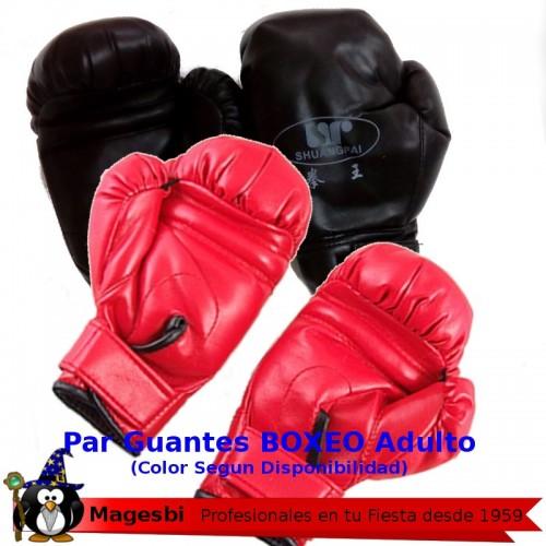 Guantes Boxeo Negros o Rojos