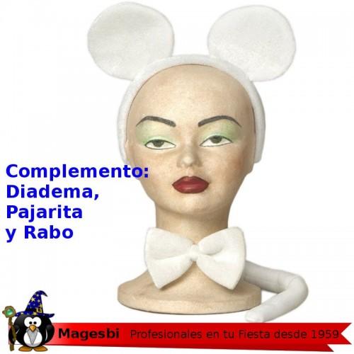 Conjunto Raton Blanco