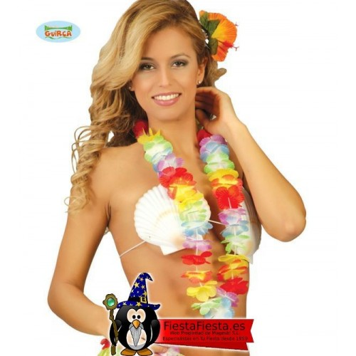 Collar Hawaiano Bolsa de 10 Unidades