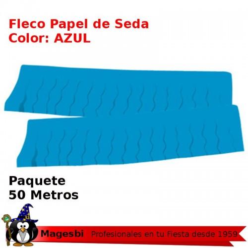 Fleco Papel Azul 50 Metros