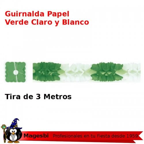 Guirnalda Blanco Verde 3 Metros