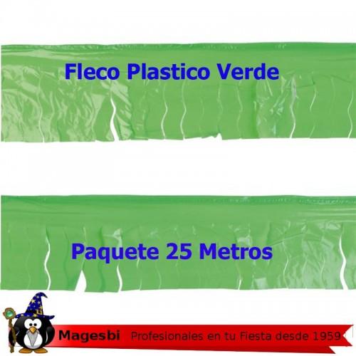 Fleco Plastico Verde 25m.