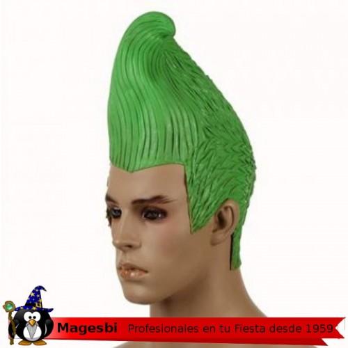 Peluca Plastico Cono Verde