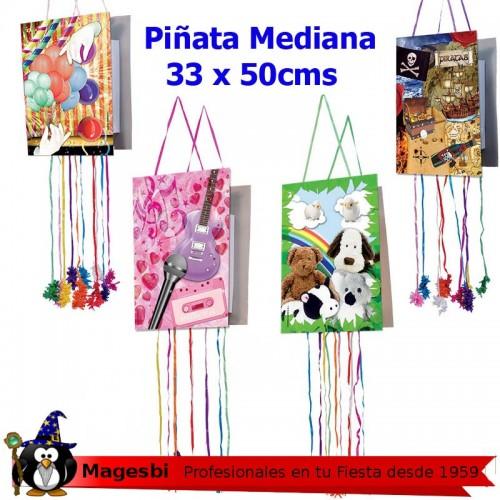 Piñata Mediana Modelos Surtidos