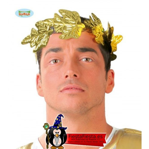 Corona Laurel Romano disfraz