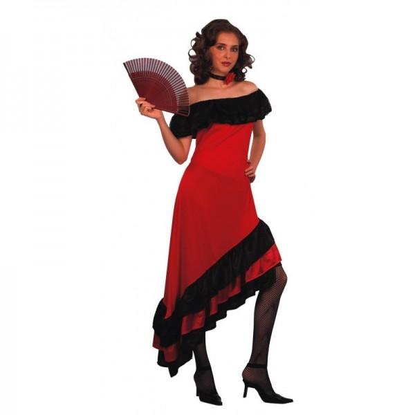 Flamenca Roja Liso