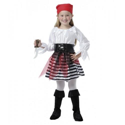 Pirata Chica Rayas