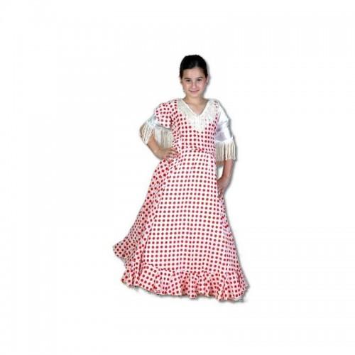 Flamenca Blanca Flecos