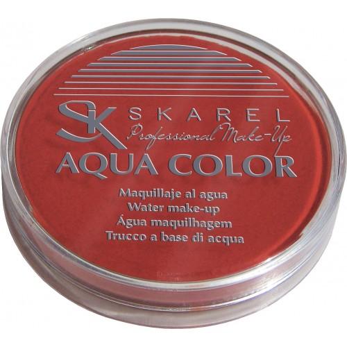 Maquillaje Aqua Color Rojo