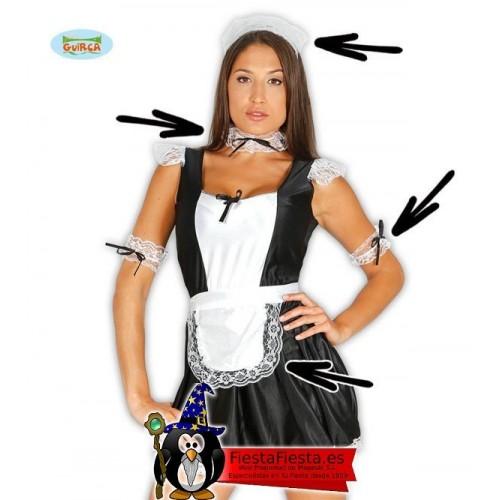 Conjunto coofia camarera