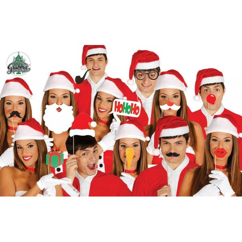 Set Photocall Navidad 12 Pcs.
