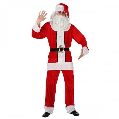 Papa Noel Adulto terciopelo
