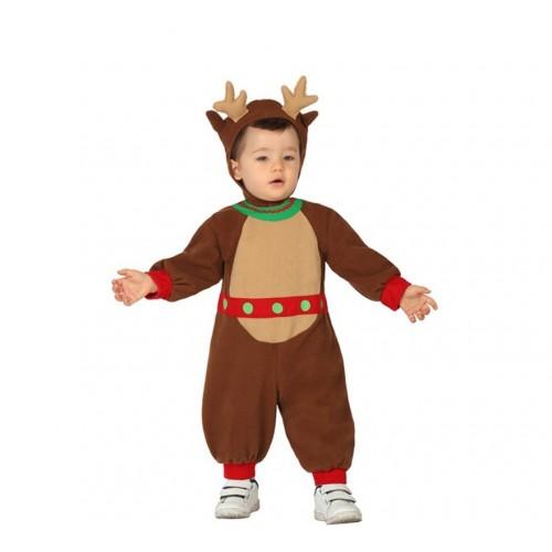 Reno Disfraz infantil Bebe