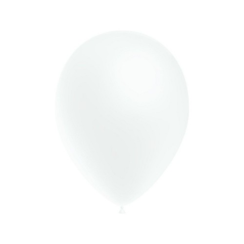 Bolsa 100 Globos 7 G Blanco