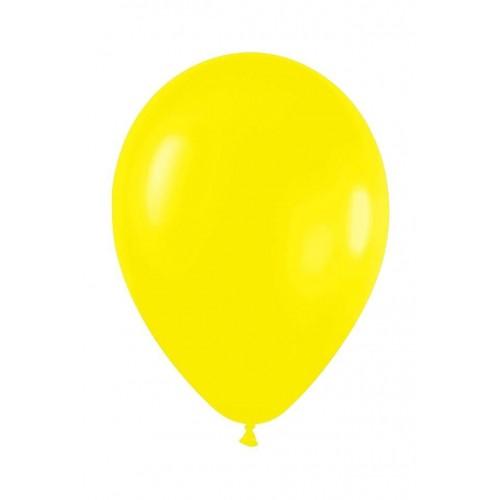 Bolsa 100 Globos 7 G Amarillo