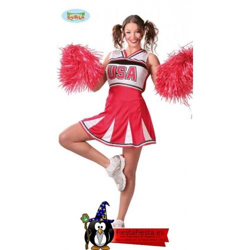 disfraz animadora cheerleader
