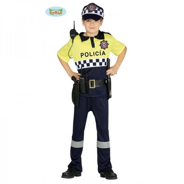 Disfraz Policia Local 10-12 Años