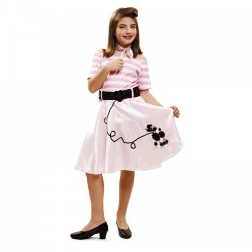 Disfraz Chica Rockera Pink Lady