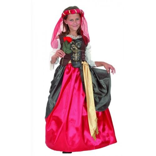 Disfraz Dama del Renacimiento infantil