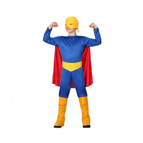 Disfraz  Super Heroe Azul Niño