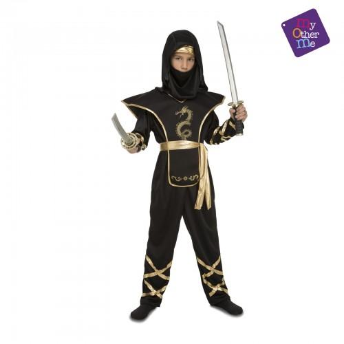 Disfraz Ninja Dragon negro 10 a 12