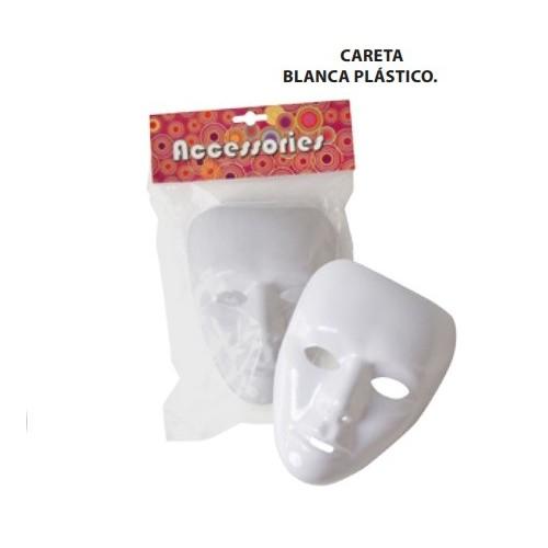 Careta Blanca Vinilica