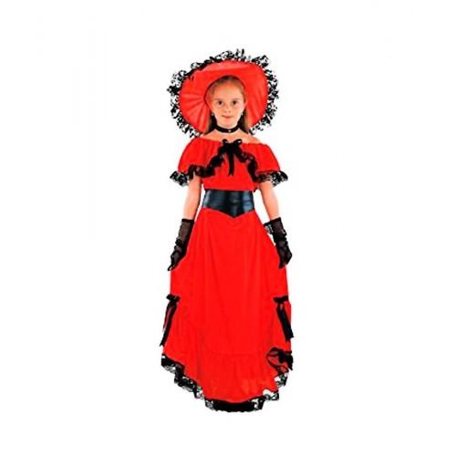 Disfraz Escarlata Roja Niña