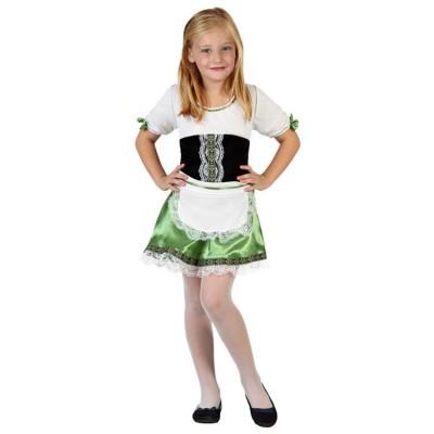 Disfraz Tirolesa Corta Niña