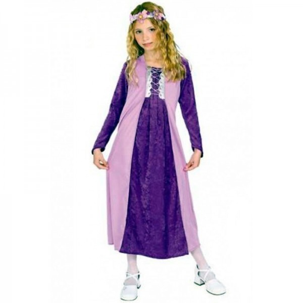 Disfraz Princesa Lila Terciopelo