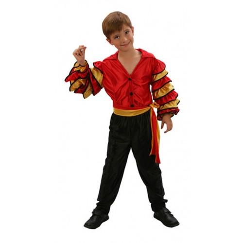 Disfraz Rumbero Rojo Niño