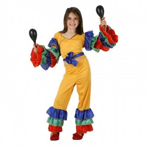 Disfraz Rumbera Amarilla