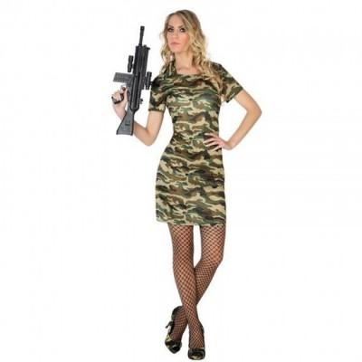 Militar Chica Vestido