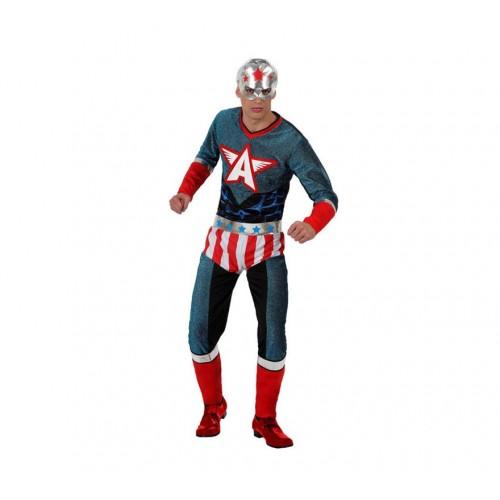 Capitan Americano Metalizado