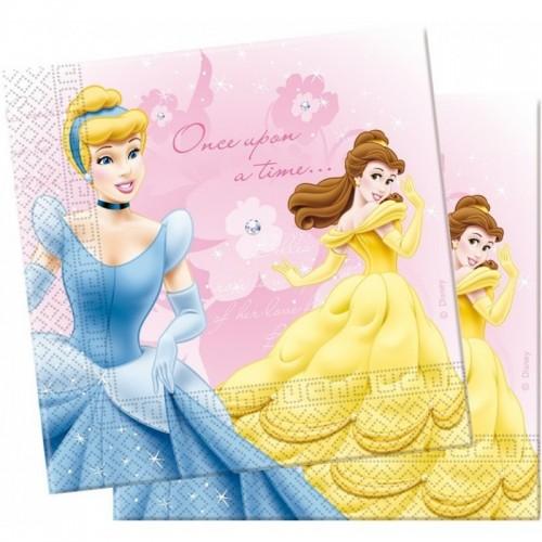 Bolsa 20 Servilletas 33 X 33 Cms Princesas