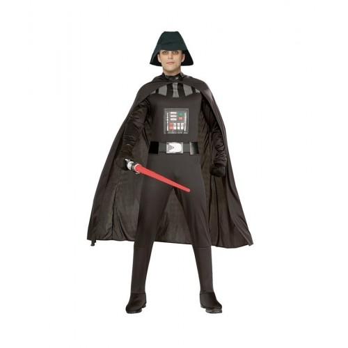 Villano Galaxia  tipo Darth Vader Adulto