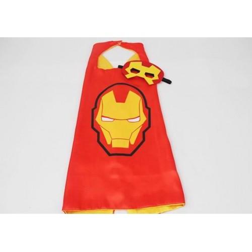 Capa Heroe Ironman con Mascara