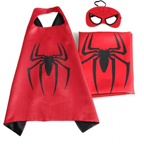 Capa Heroe Spiderman con Mascara