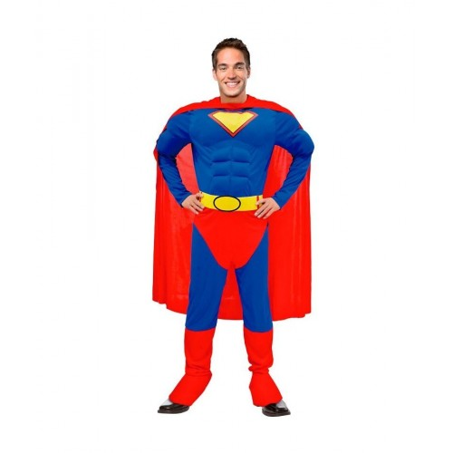 Super Hero Adulto tipo Superman