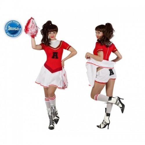 Disfraz Animadora Roja Culot