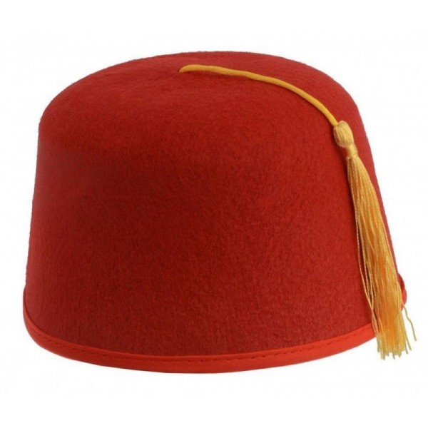 Sombrero Turco Rojo